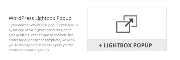 OptinMonster lightbox popup