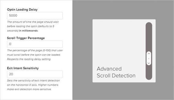 OptinMonster Scroll Detection