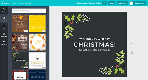 Use tools like Canva to optimize your images