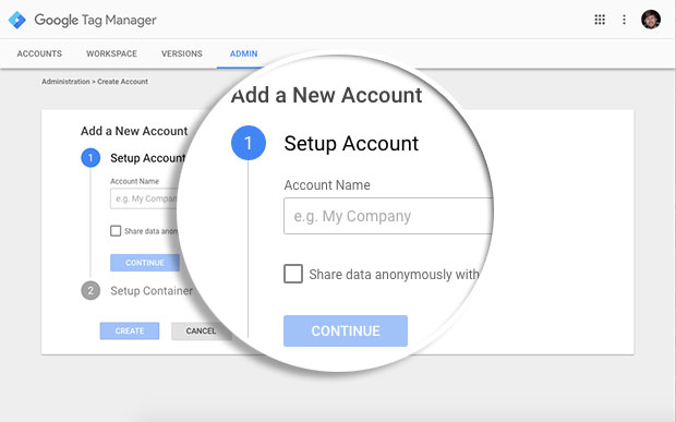 Give-Name-to-Account-for-GTM