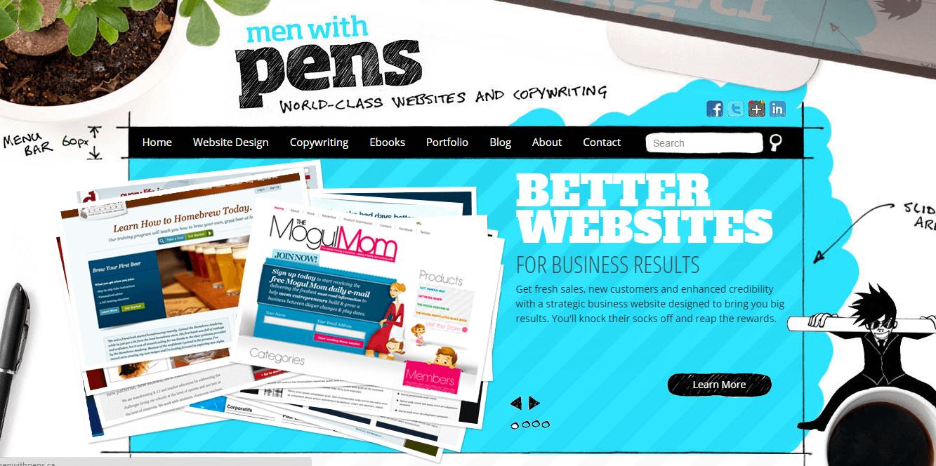 Men-With-Pens
