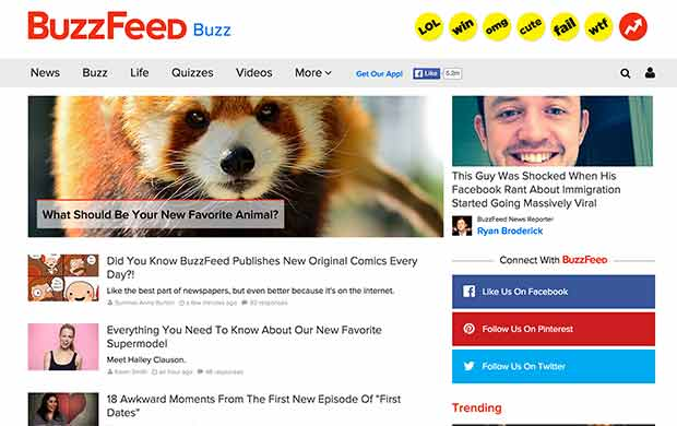 How BuzzFeed engages users with different content formats and mediums