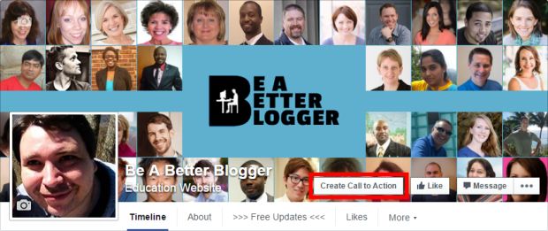 Utilize Facebook's CTA feature to gain more subscribers