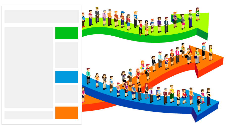 Segmenting users
