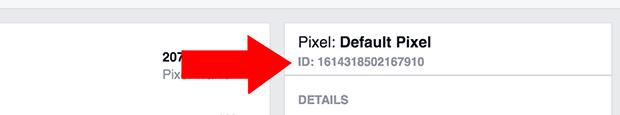 Copy Pixel ID