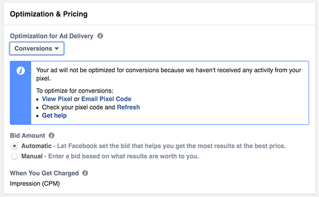 Optimization and Pricing