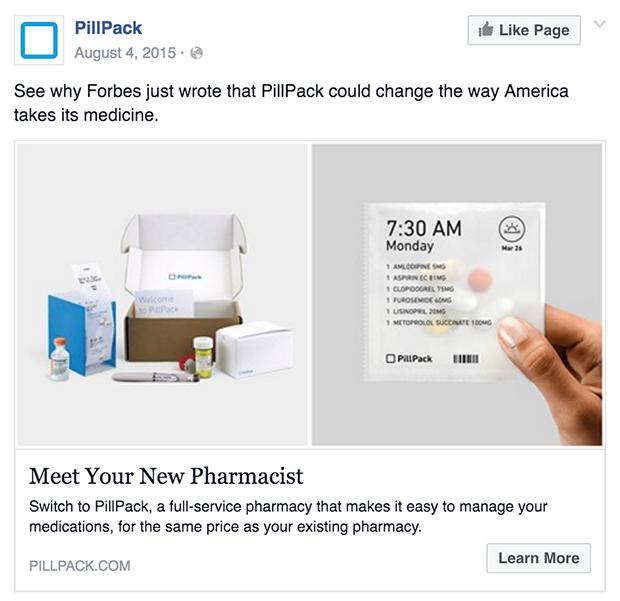 PillPack Ad