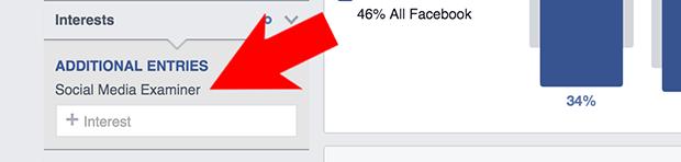 Type in Facebook Fan Page