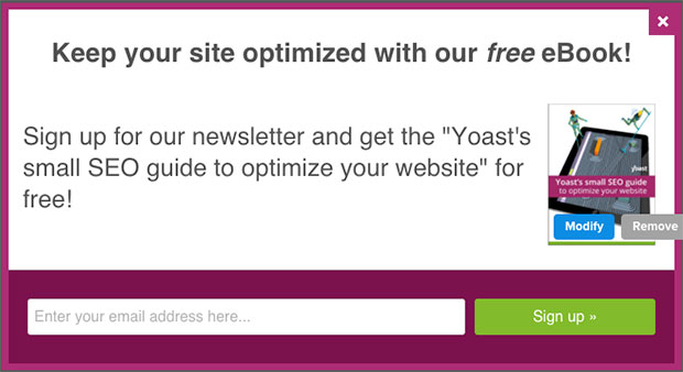 Yoast's-Lightbox-OptinMonster