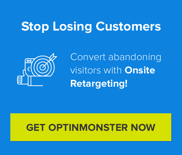 Convert More Visitors into Customers with OptinMonster's Powerful Lead Generation Software