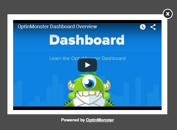 Video Popup with OptinMonster