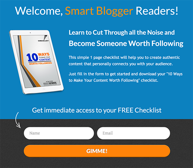 Welcome Smart Blogger Readers
