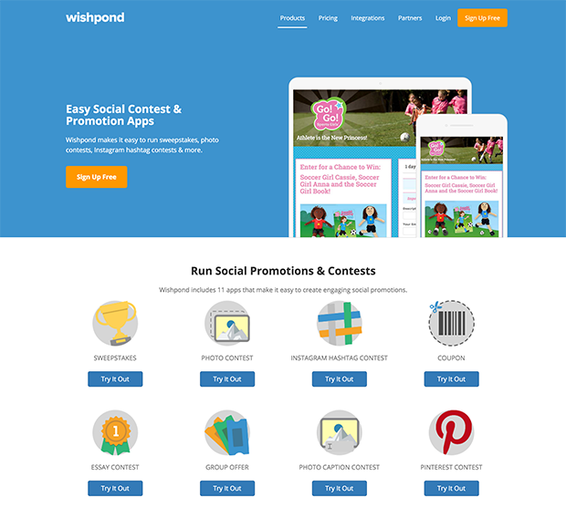 Wishpond Contests