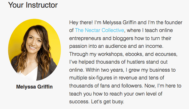 Melyssa Griffin Author Bio