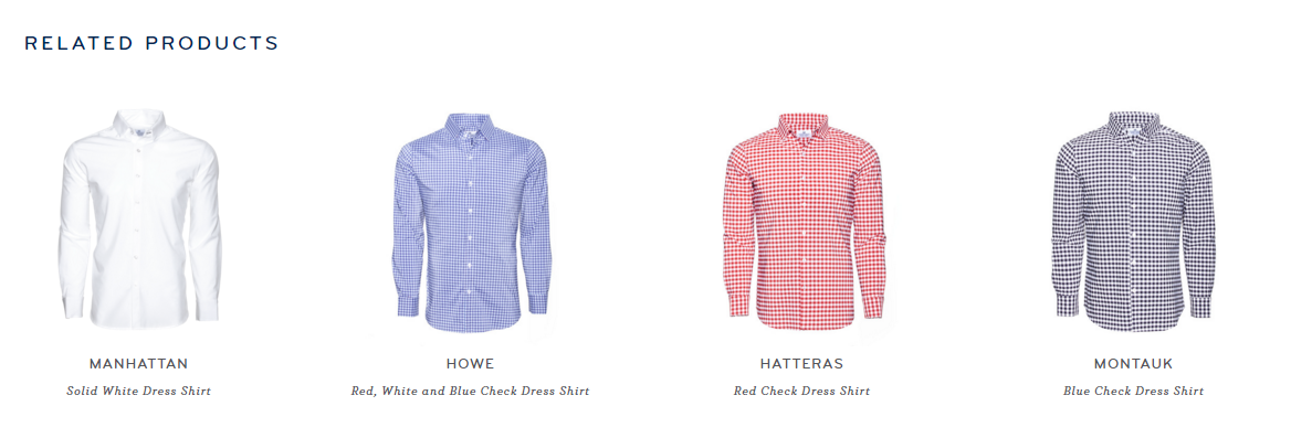 Mizzen And Main upsells with related products