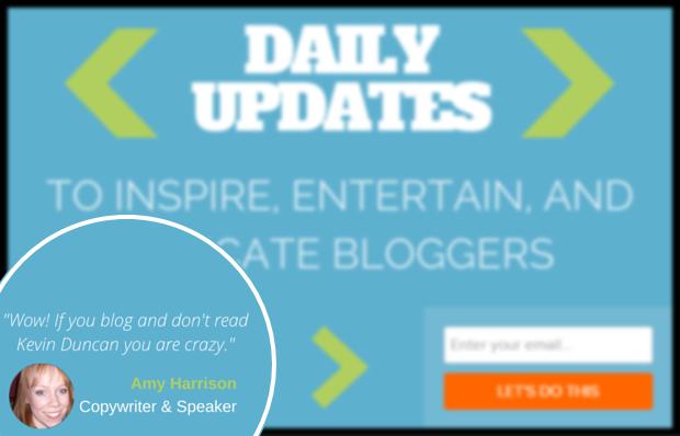 Be a Better Blogger Optin