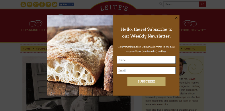 get email subscribers for your blog with a popup optin form