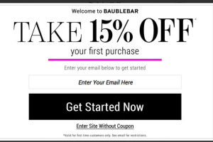 BaubleBar Popup