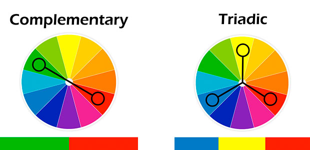 Complimentary and Triadic Colors