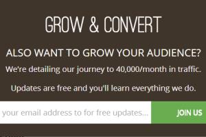 Grow & Convert Popup