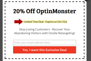 OptinMonster Discount Coupon