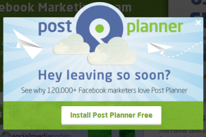 PostPlanner Download Popup