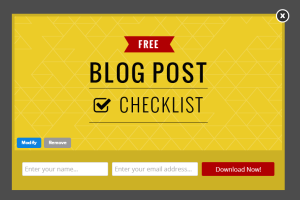 SB Blog Post Checklist