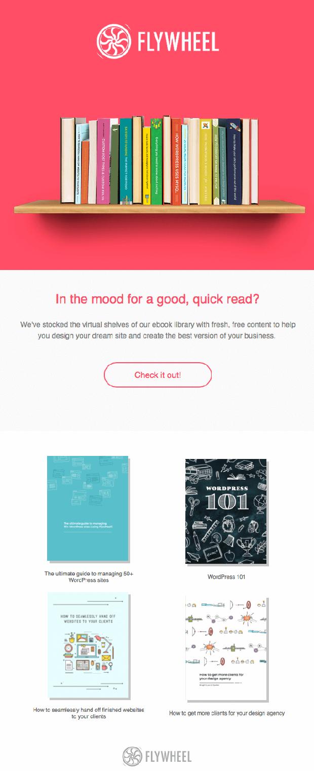 free ebooks Flywheel email