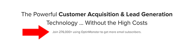 OptinMonster Pricing Social Proof Ex 1