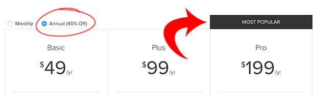 Preferred Pricing Option