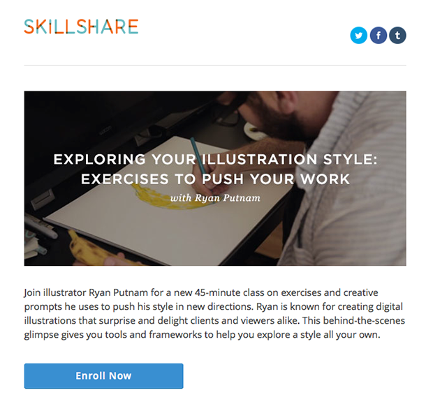 SkillShare Interests