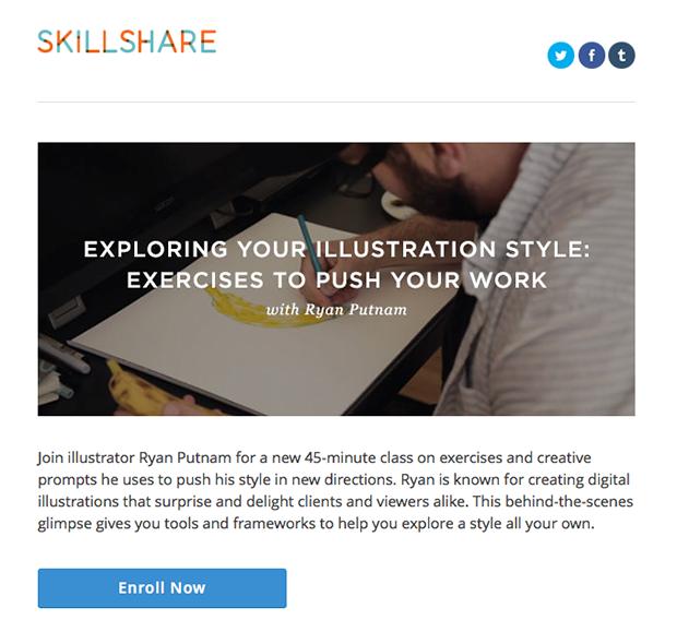 Interessi di SkillShare