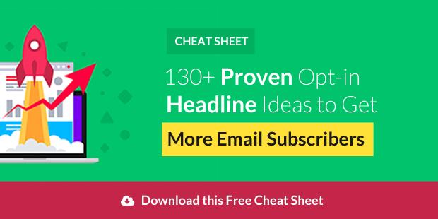Download Optin Headline Cheatsheet
