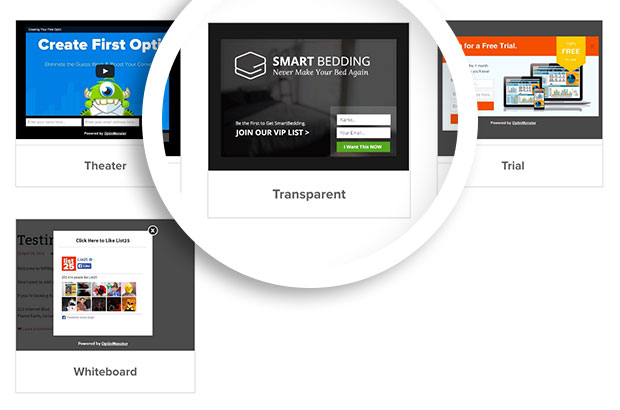 Lightbox Transparent Theme