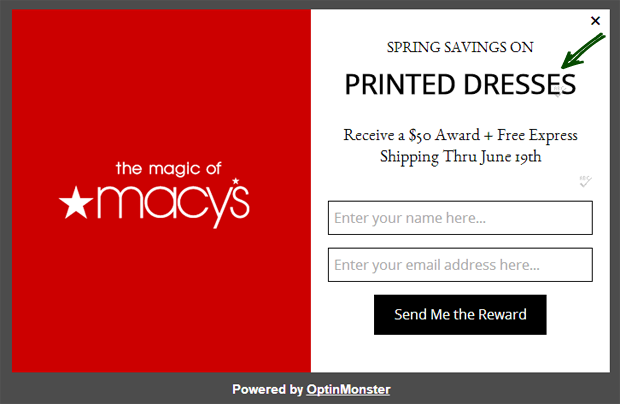 Dynamic Text Replacement Ecommerce