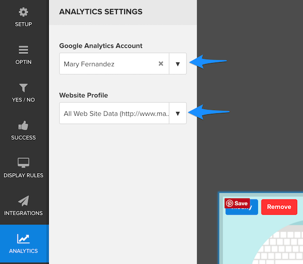 om-analytics-settings