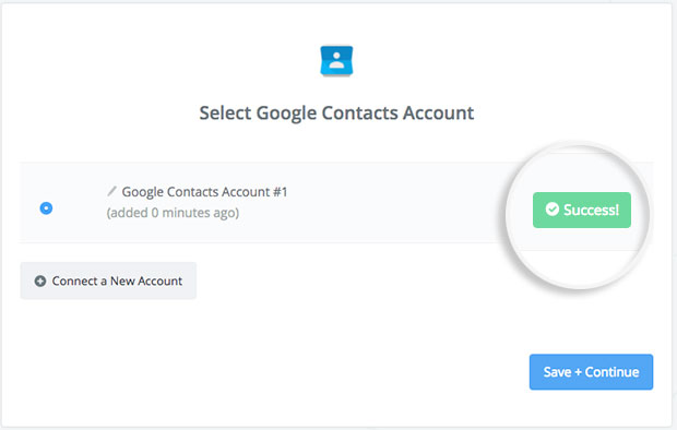 google-account-connected