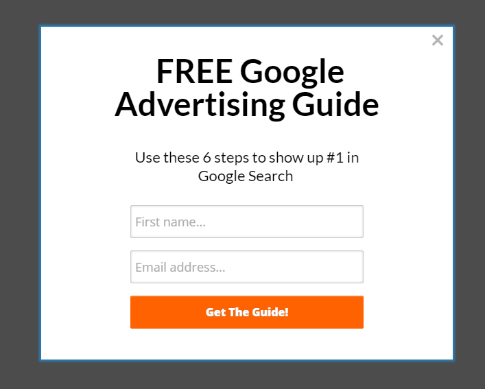 Fit Small Business helps businesses understand Google Advertising with this targeted offer.