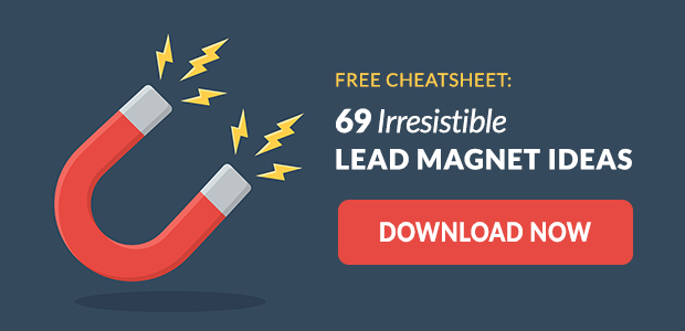 Download the 69 Irresistible Lead Magnet Ideas