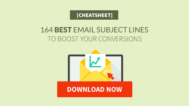 Best Email Subject Lines Cheatsheet