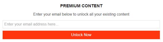 content lock optin