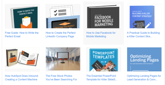 Hubspot ebooks