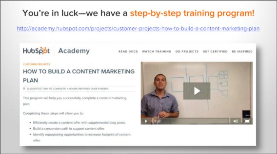 hubspot webinar pitch