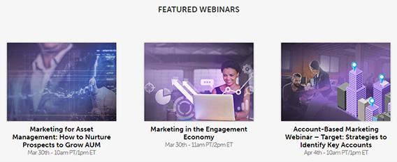 marketo webinar marketing strategy