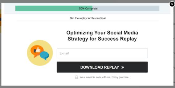shopify webinar replay