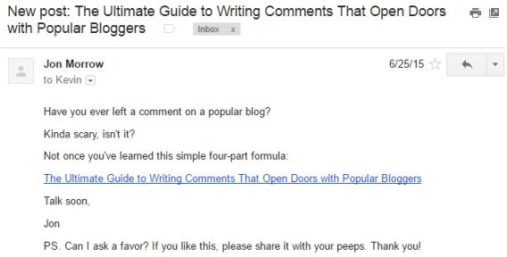 Minimalism in Email Marketing