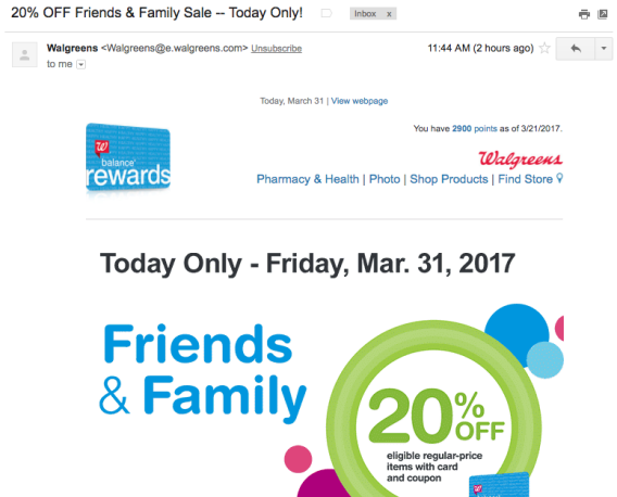 Promoting Discounts in Email Marketing
