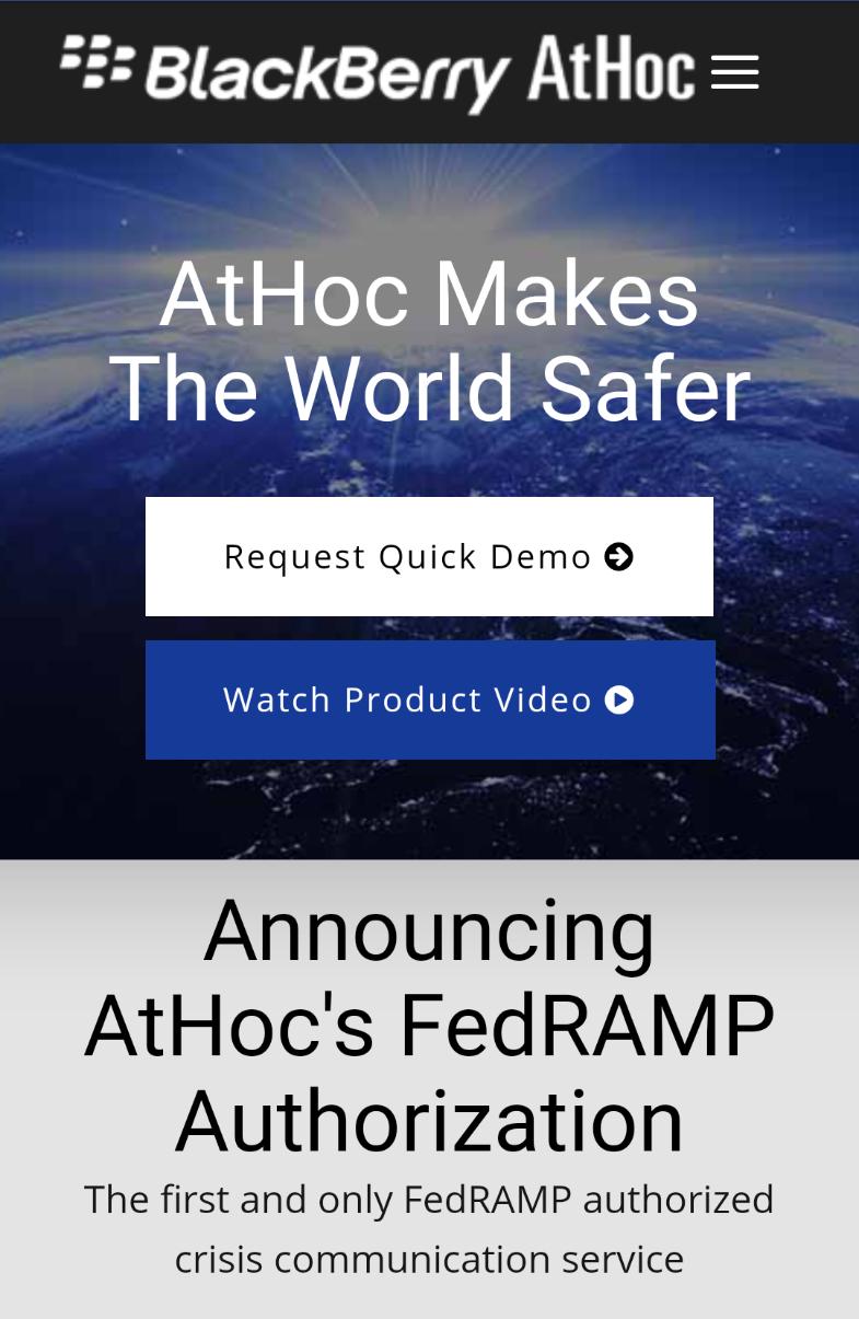 AtHoc Mobile Optin