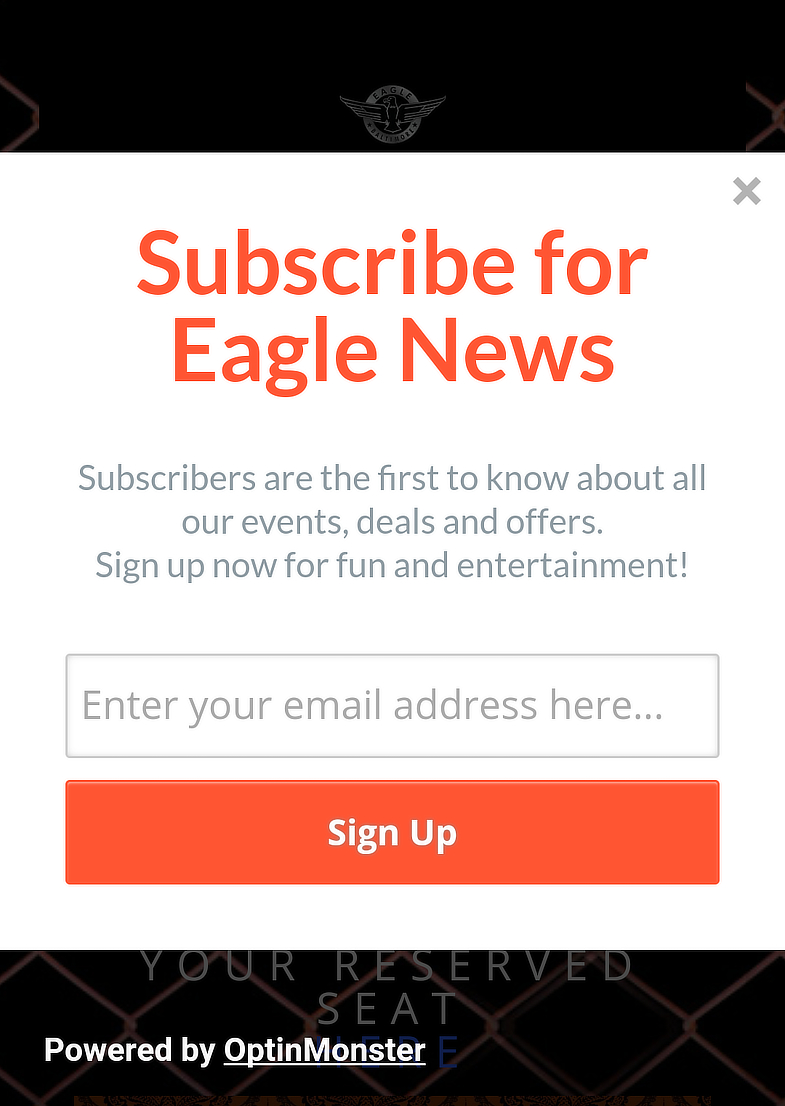 Baltimore Eagle Mobile Optin