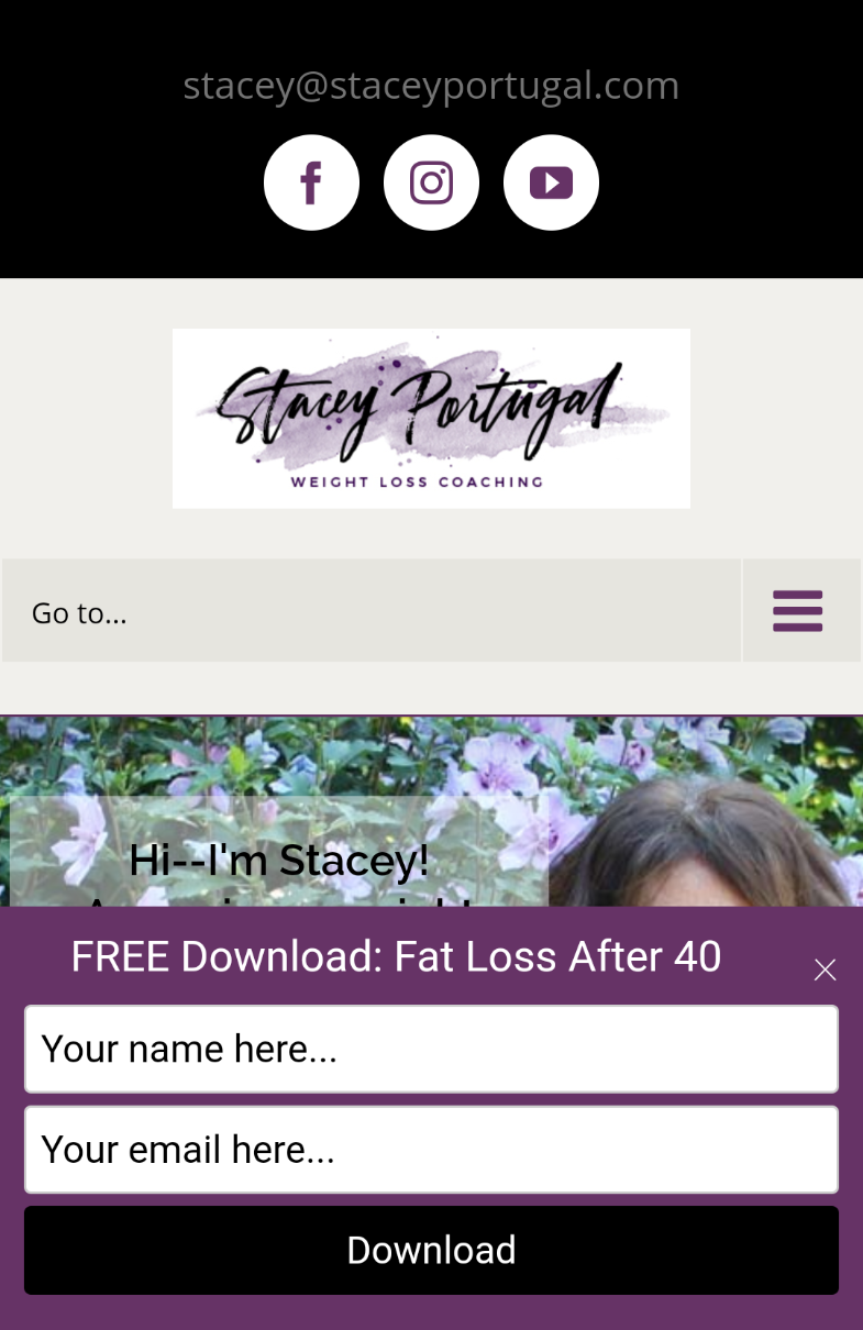 Stacey Portugal Mobile Optin
